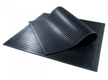 Диэлектрический коврик ГОСТ 4997-75 I группа 500х500 мм